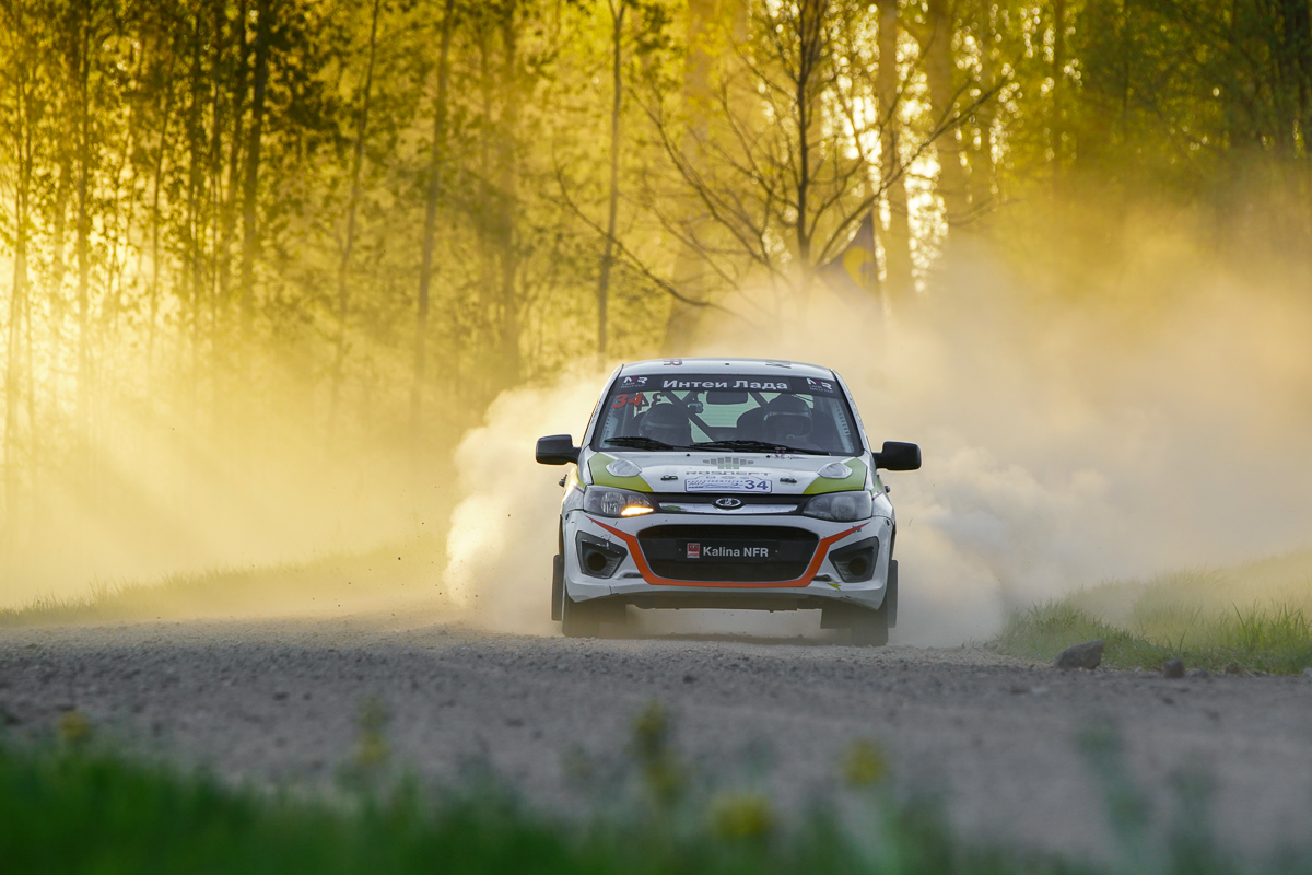 LADA Rally Cup стартует на гравии в Пушкинских Горах.