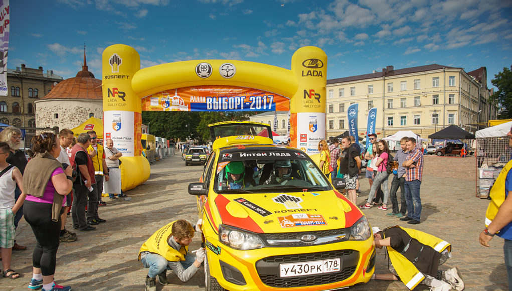 Результаты выборгского этапа LADA Rally Cup впечатляют